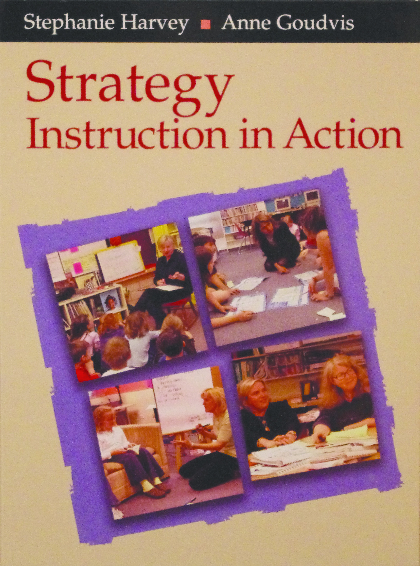 Strategy Instruction In Action Video Stenhouse Publishers